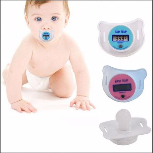 Chupón Termómetro Digital Para Bebé