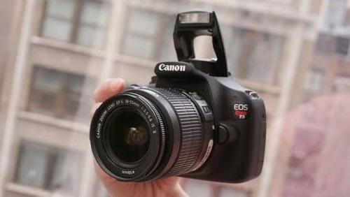Canon Eos Rebel T5 Con Objetivo 18-55