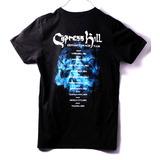 Playera Oficial Cypress Hill Black