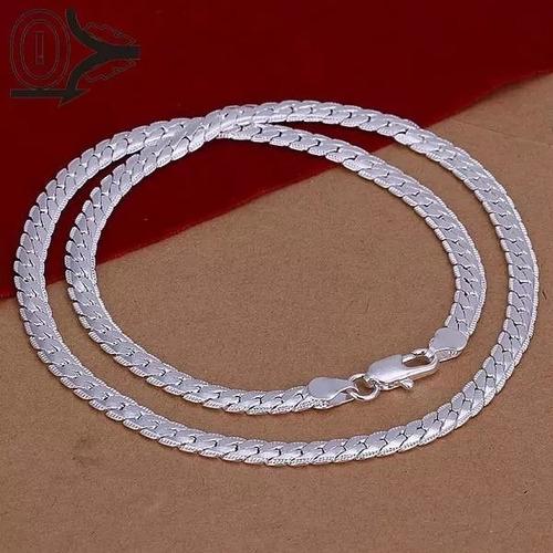 511c3cf6100a Collar De Plata Laminada De Caballero Moda. en venta en Gustavo A ...