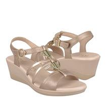 11a80dee Comprar Sandalias Casuales Flexi Para Mujer Piel Oro 34701