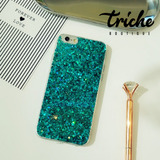 Funda Case Diseño Glitter Brillos Colores Dama iPhone X