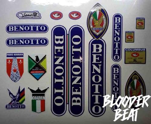 Sticker Ciclismo Benotto Aguila De Tachira Calcomanía