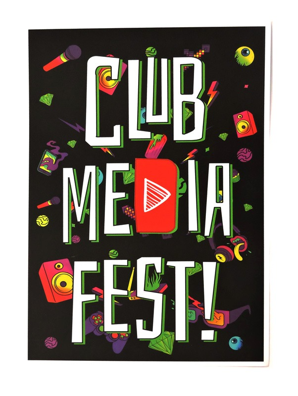 Poster Oficial Club Media Fest
