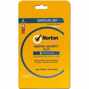 Norton Security PLUS 5 Dispositivos