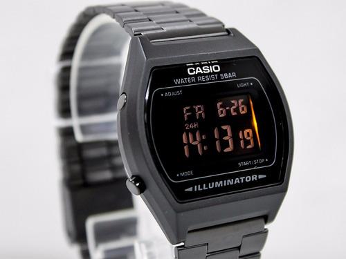 06c0b9893408 Reloj Casio Retro Vintage B640 Acero Pavonado Original en venta en ...