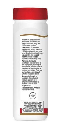 Vitamina D3 Premium 25 Mcg 1,000iu 500 Tabletas Eg D67 - Ecart