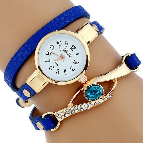 522c19dd9c75 ... comprar Reloj Pulsera Brazalete Dije Mujer Moda Dama Mayoreo Pieza ...