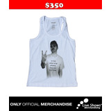 Playera Oficial MORRISSEY TANK TOP WHITE
