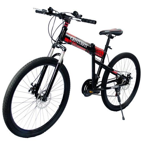 Bicicleta Plegable Montaña R26  21 Vl Centurfit Freno Disco