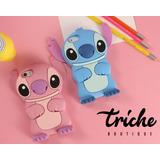 Funda Botarga Stitch Azul Iphone 8 Plus