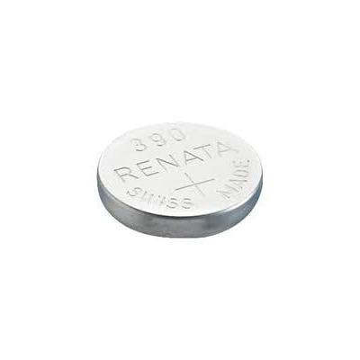 Pila tipo bot n de xido de plata marca renata modelo 390 - Tipos de pilas de boton ...