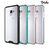 Funda Crystal Case Transparente Colores Galaxy A8 Plus 2018