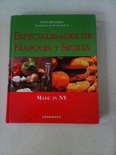 Libro De Recetas De Cocina Napoles Y Siilia Made In Ny