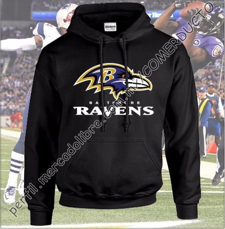 Paquete Sudadera Y Playera Ravens De Baltimore Envio Gratis