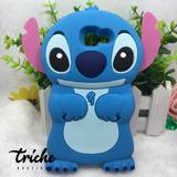 Funda Botarga Stitch Azul Galaxy A7 2016 A710 Triche