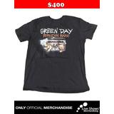 Playera Oficial GREEN DAY REVOLUTION