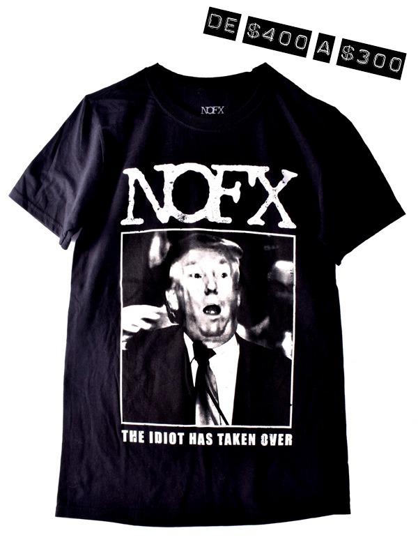 Playera Oficial NOFX Trump