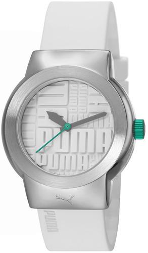 reloj puma blanco mujer