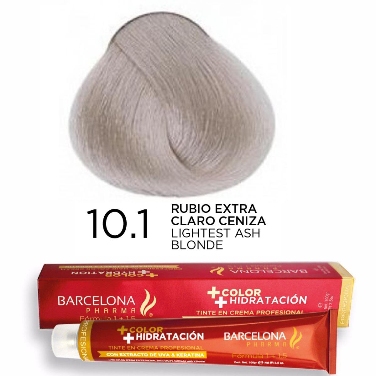Tinte + Color Hidratación tono 10.1 Rubio Extra Cl...