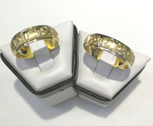 3106c5097f1 Par Argolla De Matrimonio En Oro Macizo De 10k en venta en ...