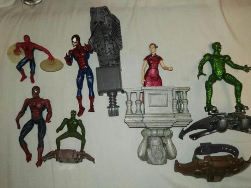Colección De Figuras De Spiderman Retro Incluye Envio