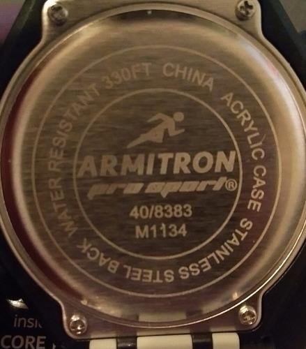 5e2ca8686183 Reloj Armitron Pro-sport 40 8383 Gris  envio Gratis  en venta en ...