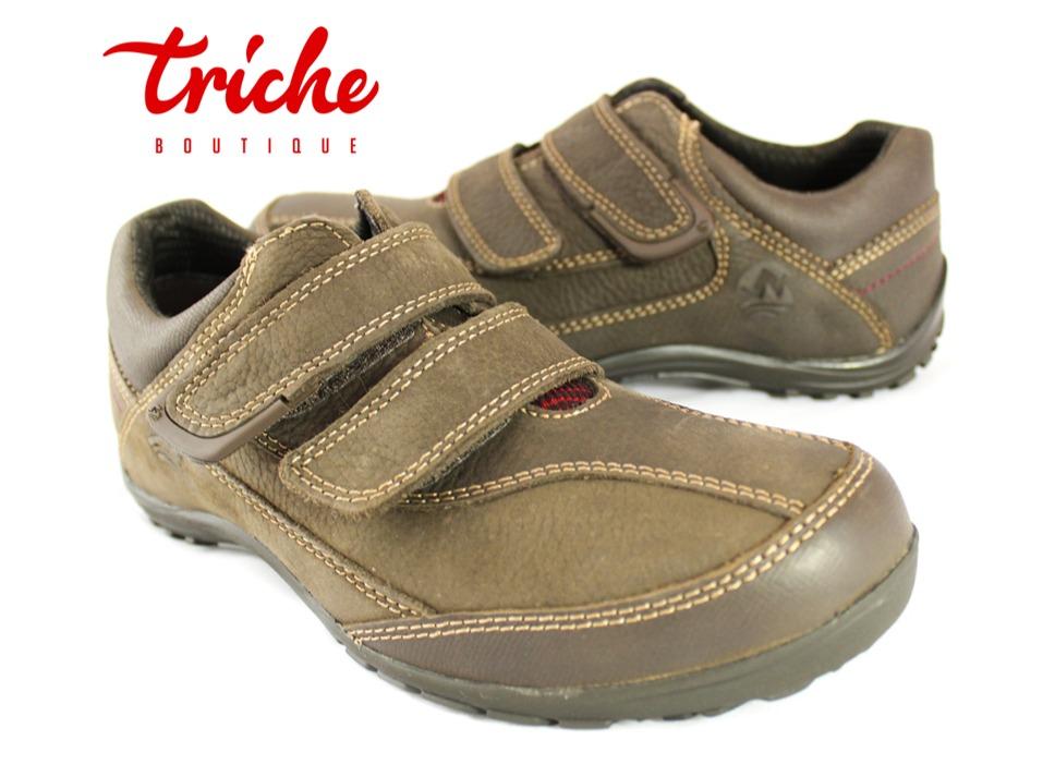 5b6751ab Calzado Zapato Caballero Negro Café 94804 Casual Confort   Triche