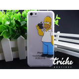 Case Homero Simpson Para IPhone 5c
