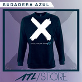 SUDADERA AZUL TCT 17