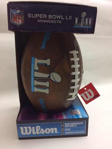 Balón Wilson Nfl Football Americano Súper Bowl