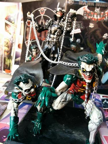 Batman Que Ríe Con Robins Y Envío, Figura Bajo Pedido