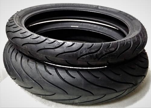 Llantas Michelin 130/70-17 62s Y 90/80-17 46s Pilot Street