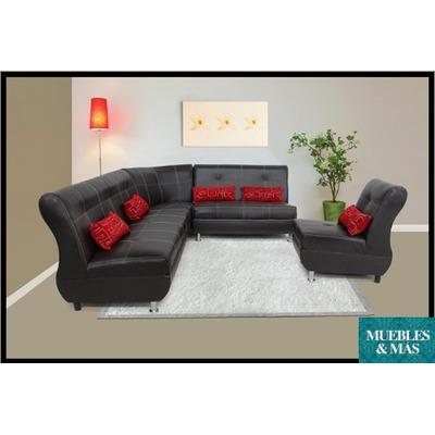 Elegante sala color chocoale incluye cojines decorativos - Lo ultimo en electrodomesticos ...