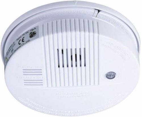 Alarma Detectora Humo Luz Led