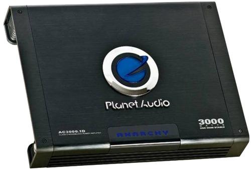 Amplificador Planet Audio 3000.1d 1canal 3000wats Clase D
