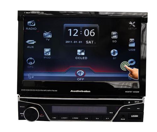 Autoestereo Audiobahn Touch Screen D 7 Pulg Motorizada Xaris