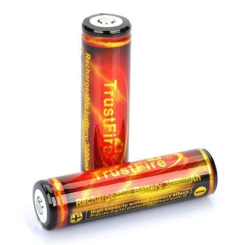 Bateria Trustfire Protegida 18650 3.7v 3000mah
