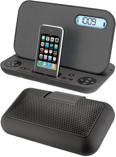 Bocina Reloj Despertador Iphone Y Ipod Ihome Studio Ip49