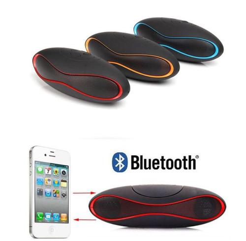 Bocina Rugby Bluetooth Recargable Con Usb, Radio,mp3,mini Sd