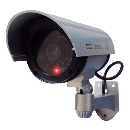 Camara Bullet Falsa De Seguridad Vigilancia Cctv Espia