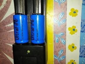 Cargador Doble Para Pilas O Baterías 18650, 14500, 16340