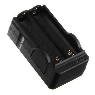 Cargador Doble Pila Bateria 18650 De .3.7v Vbf.