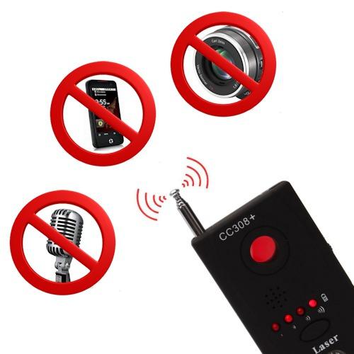 Detector De Cámaras Y Micrófonos Ocultos