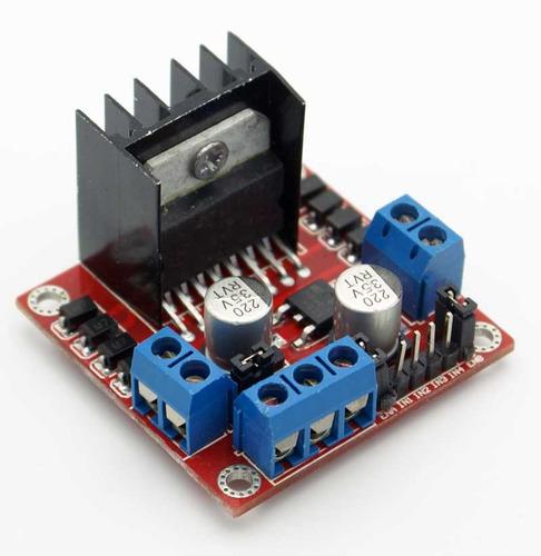 Driver L298 Doble Puente H Arduino Uno Mega Pic Compatible