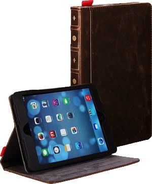 Funda Tipo Libro Retro Ipad Mini Y Retina Book Envio Gratis