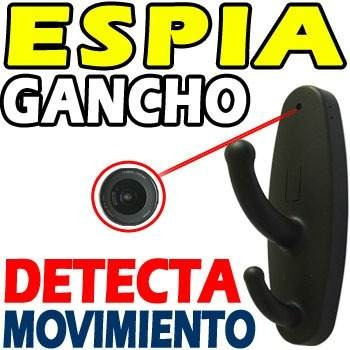 Gancho Espia Camara Minidv Sensor Movimiento Hd Sony 8gb