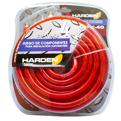 Kit De Instalacion Profesional Calibre 4 Cables Y Accesorios