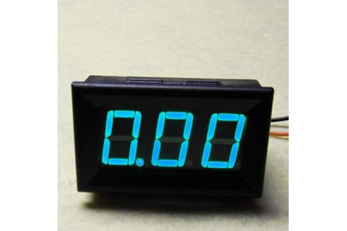 Led Amperímetro Dígital Medidor De Corriente 10 A (azul)