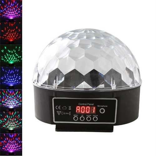Luz De Leds Fire Ball Automatica Audioritmica Dmx 6 Colores